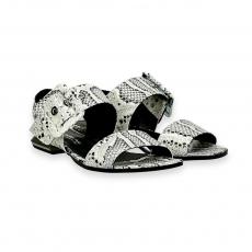 Sandalo fibbia pitone roccia T 15 mm.