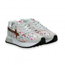 Sneaker paillettes multicolor